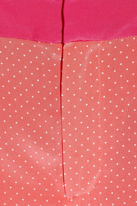 Vanessa Bruno Polka-dot silk pants