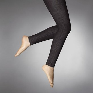 Vera Wang Simply vera rivet denim leggings