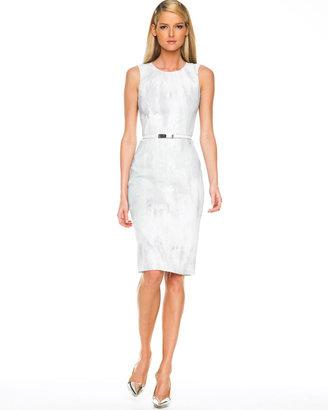 Michael Kors Belted Sheath Dress
