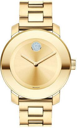 Movado 'Bold' Crystal Marker Bracelet Watch, 36Mm $695 thestylecure.com