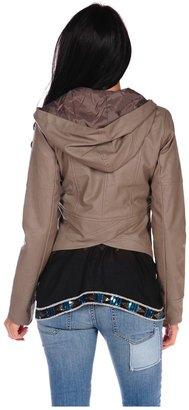 BB Dakota Chriss Dry Crinkle Jacket