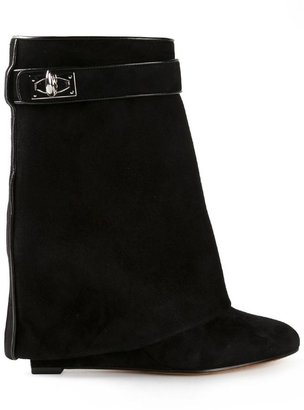 Givenchy 'Shark Tooth' pant leg boots