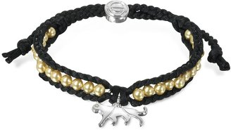 Sho London Jaguar Friendship Silk Bracelet