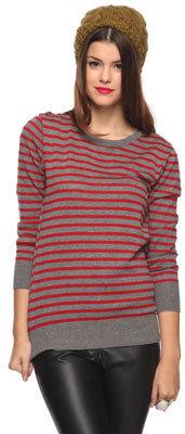Forever 21 Striped Boyfriend Sweater