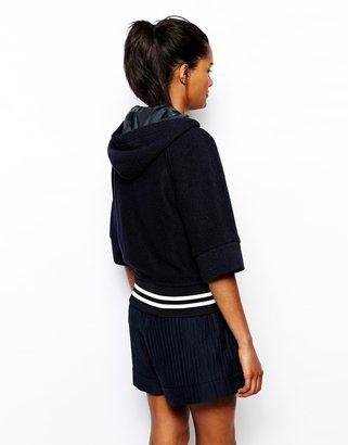 Wood Wood Sylvie Varsity Jacket with Hood