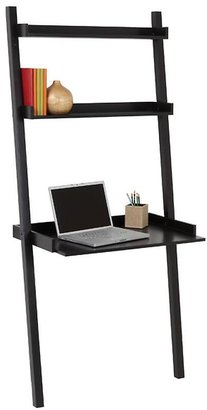 Container Store Linea Leaning Desk Java