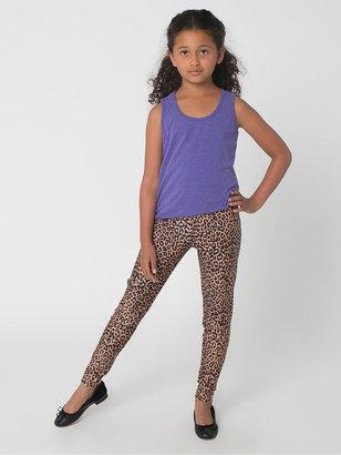 American Apparel Kids' Printed Nylon Tricot Legging