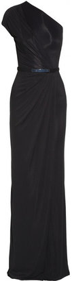 Kaufman Franco KAUFMANFRANCO Draped crepe-jersey gown
