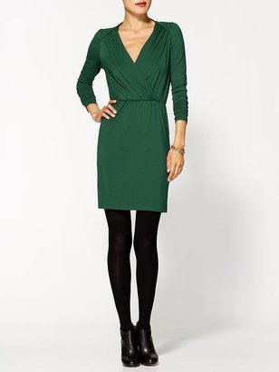 Hazel Long Sleeve V-Neck Dress