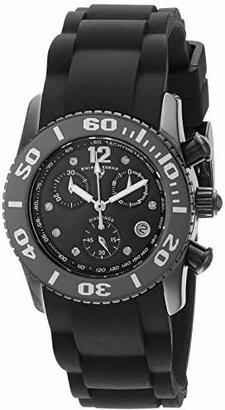 Swiss Legend Women's 10128-01-SA Commander Diamonds Analog Display Swiss Quartz Watch