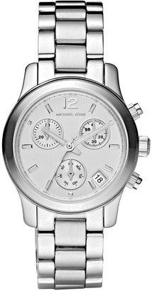 Michael Kors Women's Chronograph Mini Runway Stainless Steel Bracelet Watch 33mm MK5428