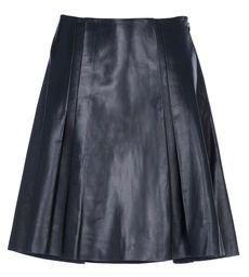 Ohne Titel Leather skirt