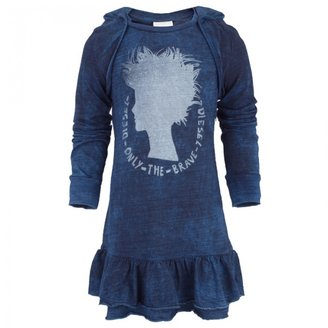 Diesel Chambray Mohican Print Dress