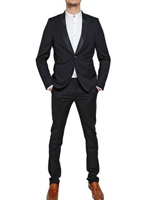 Paul Smith Light Weight Wool & Grosgrain Tuxedo