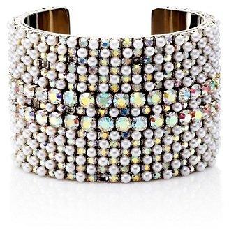 Juicy Couture Pearl and Rhinestone Cuff