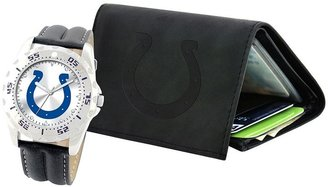 Indianapolis colts watch & wallet gift set