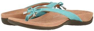 Vionic Bella II (Teal Woven) Women's Sandals