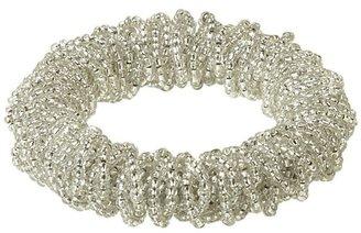 Crate & Barrel Bijou Silver Napkin Ring