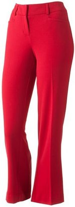 Apt. 9 modern fit straight-leg pants - petite