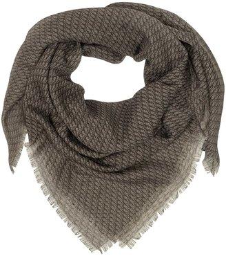 Christian Dior Oversize Wool Blend Wrap