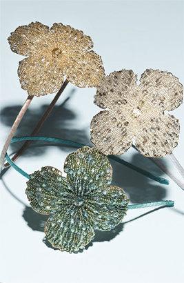 Cara 'Elegant Crystal' Flower Headband