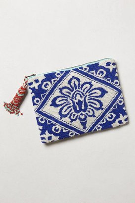 Anthropologie Beaded Bali Pouch