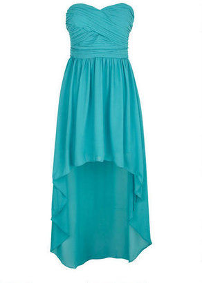 Delia's Pleated High Low Dress