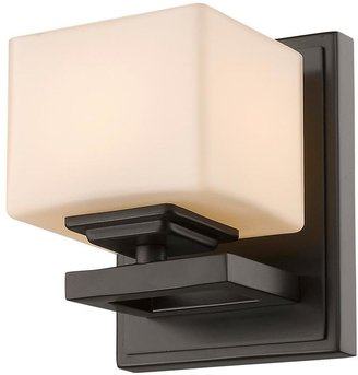 Filament Design 1-Light Bronze LED Wall Sconce
