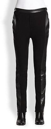 Ohne Titel Leather Inset Pants