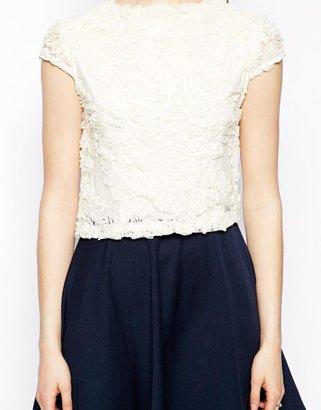 Pearl Cornelli Overlay Dress