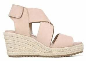Naturalizer Oshay Leather Espadrille Sandals