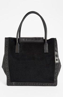 Loeffler Randall Suede & Leather Work Tote