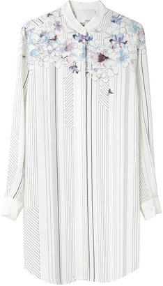 3.1 Phillip Lim Floral Shirtdress