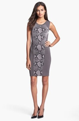 Diane von Furstenberg 'Franca' Stretch Body-Con Dress