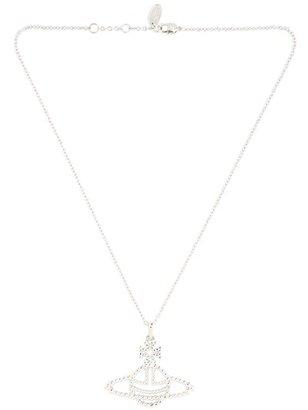 Vivienne Westwood Griselda Brass Relief Pendant Necklace