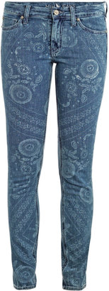 MiH Jeans Breathless mid-rise skinny jeans