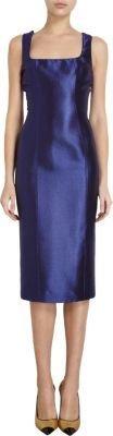 L'Wren Scott Pebbled Jacquard Dress