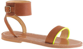 K. Jacques for J.Crew Saratoga sandals