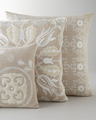 Horchow Design Accents Embroidered Accent Pillows