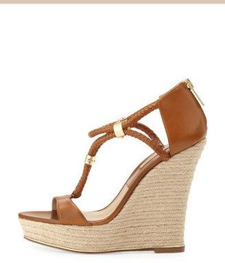 Michael Kors Sherie T-Strap Wedge Sandal