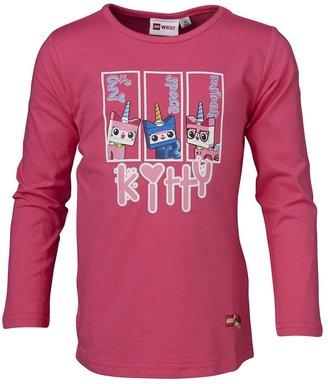 Lego Wear Girl's Movie Langarmshirt Uni Kitty Theodora 120 Long Sleeve Top