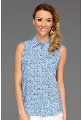 Vince Camuto TWO by S/L Western Shirt (Marina) - Apparel
