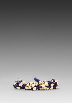 Ettika Gold Stud Bracelet
