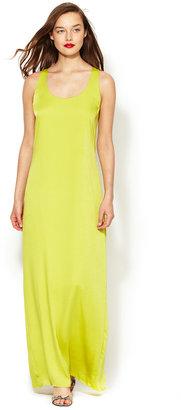 BCBGMAXAZRIA Sara Knot Detail Maxi Dress
