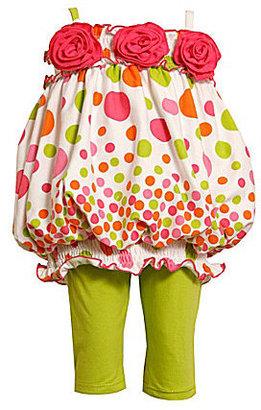 Bonnie Baby Infant Bubble Top & Leggings Set