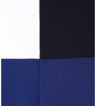 Edun Colour-block stretch dress