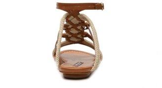 Ralph Lauren Marian Leather Gladiator Sandal