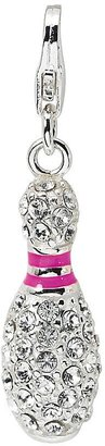 Swarovski Amore La Vita Sterling Crystal Bowling Pin Charm