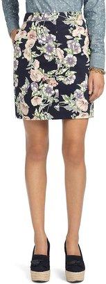Brooks Brothers Floral Skirt