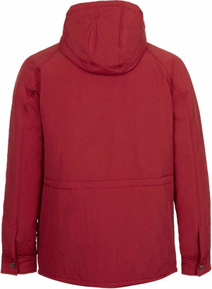 Topman Bright Red Hooded Jacket